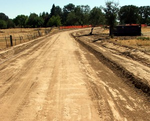 Sub-grade – ready for base rock, Sacramento, CA