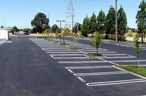 Completed overlay, Roseville, CA