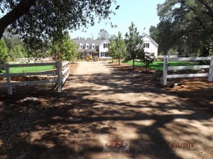 3) Front Driveway Before