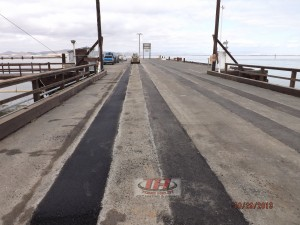 6) Pier Finish Patch Paving