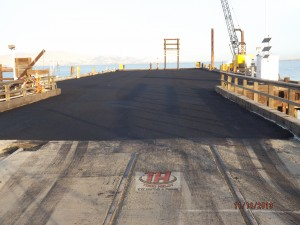 7) Pier Finish Asphalt