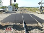 Asphalt Railroad Crossing